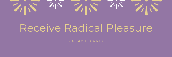 Go on an epic 30-Day Journey and join the global #receivingrevolution It's simple AF and free (duh). You get a free calendar download, notifications for live videos, inspiration, and suprises!